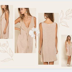 POL Super Soft Midi Dress